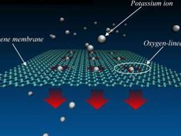 NIST团队发现石墨烯可以拉伸成可调谐离子过滤器