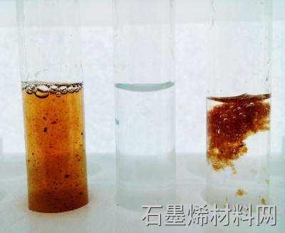 氧化石墨烯有助于净化水图像