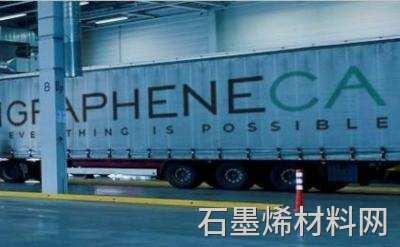 石墨烯CA为内部石墨烯制造图像创建了移动石墨烯容器系统